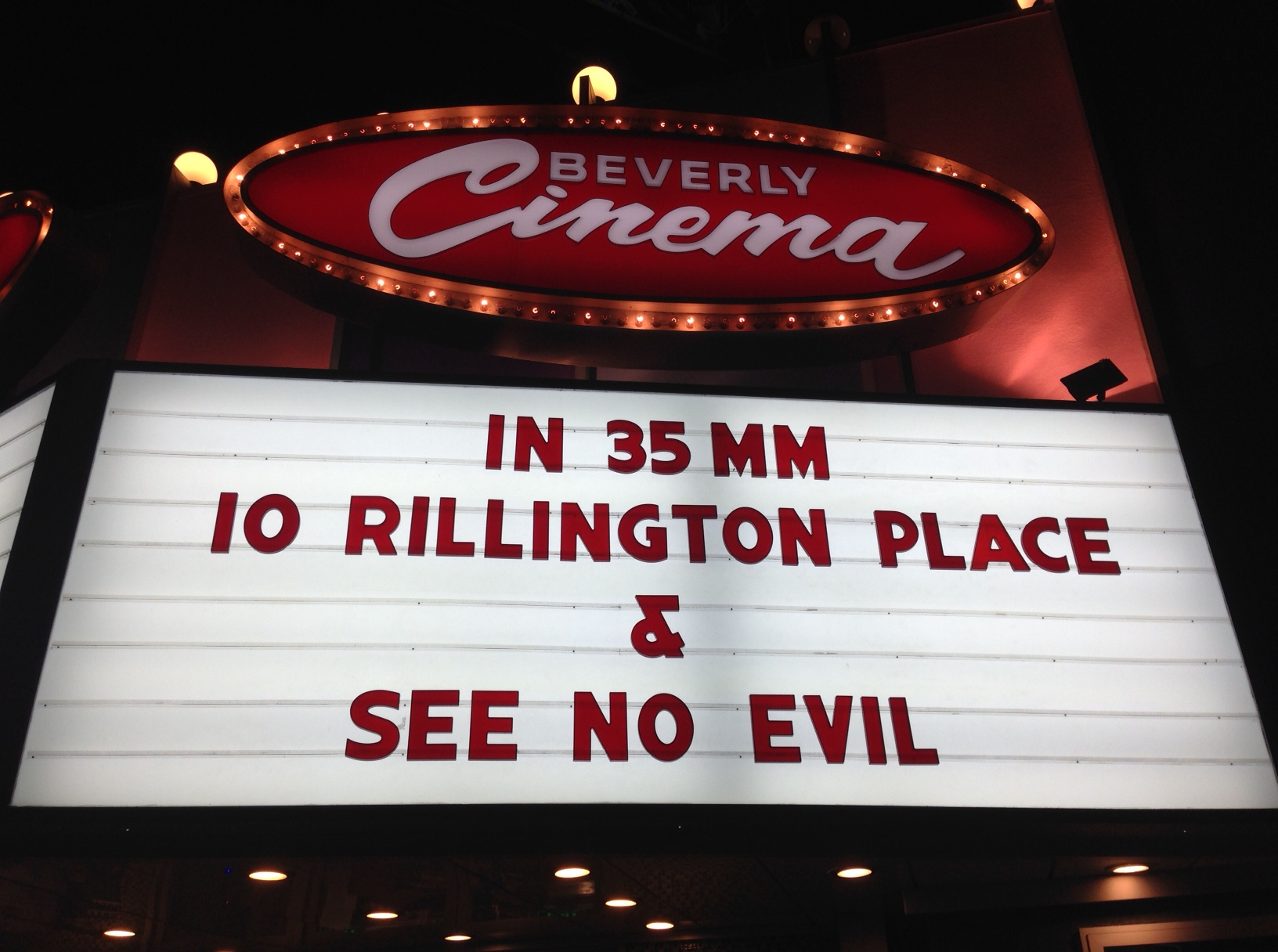 10 Rillington Place with See No Evil