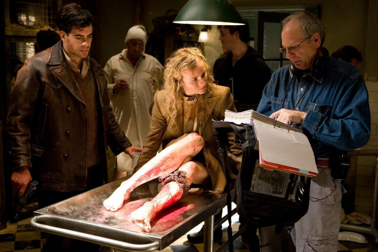 Inglourious Basterds behind the scenes