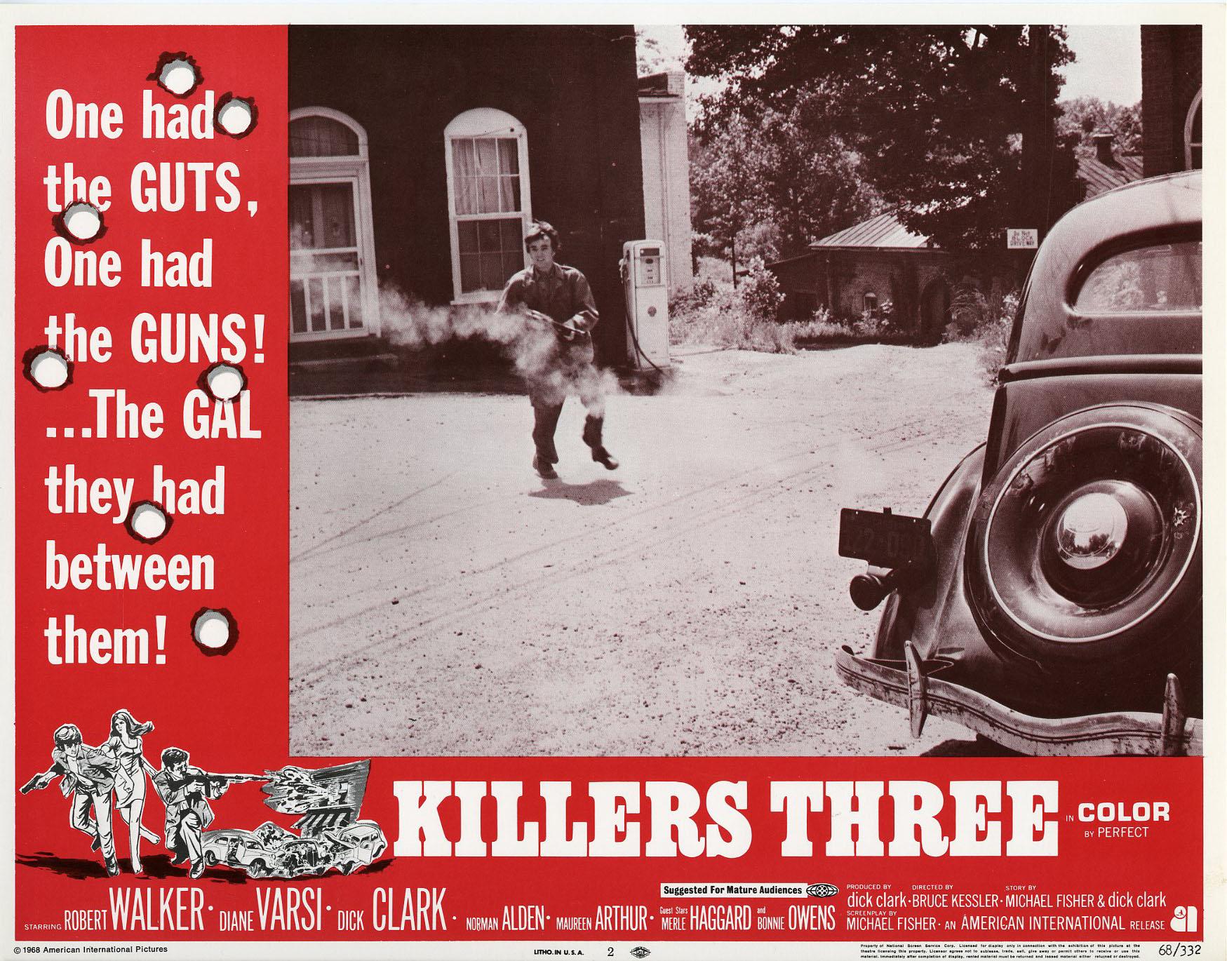 Dick clark movie killers three