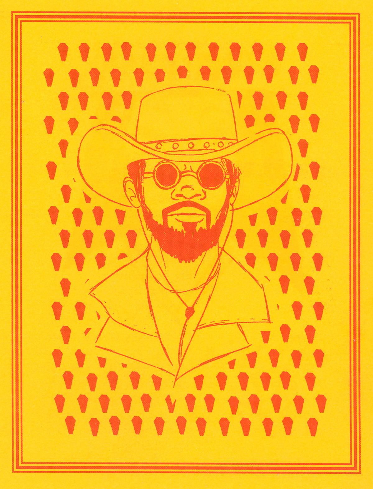 Django artwork by Amanda Fernandez