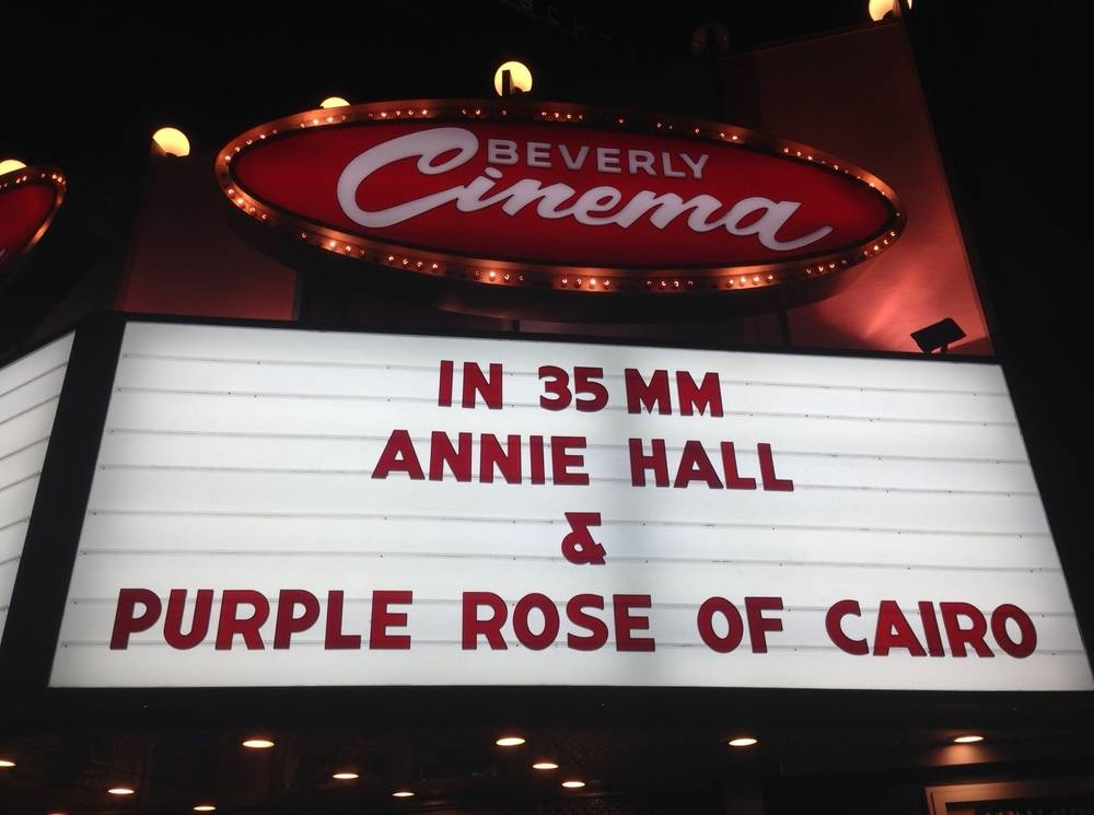 Annie Hall with Purple Rose of Cairo
