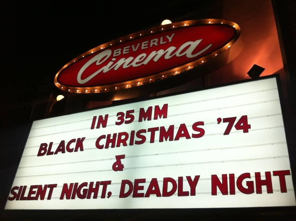 Black Christmas with Silent Night Deadly Night