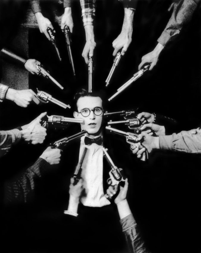 Harold Lloyd in An Eastern Westerner