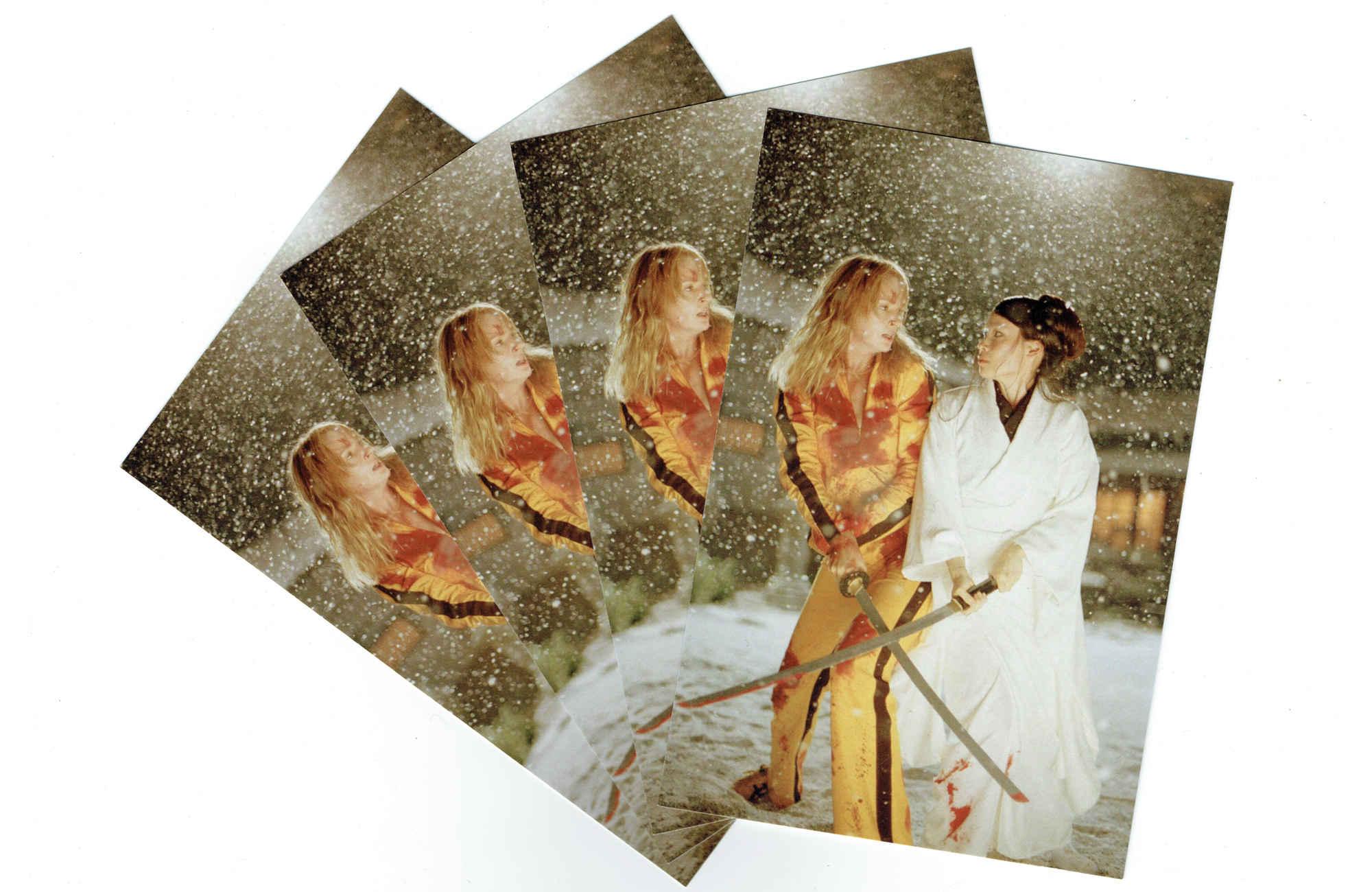 Kill Bill Postcards