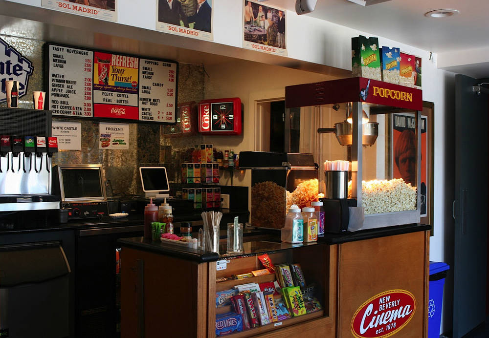 how to build a concession stand