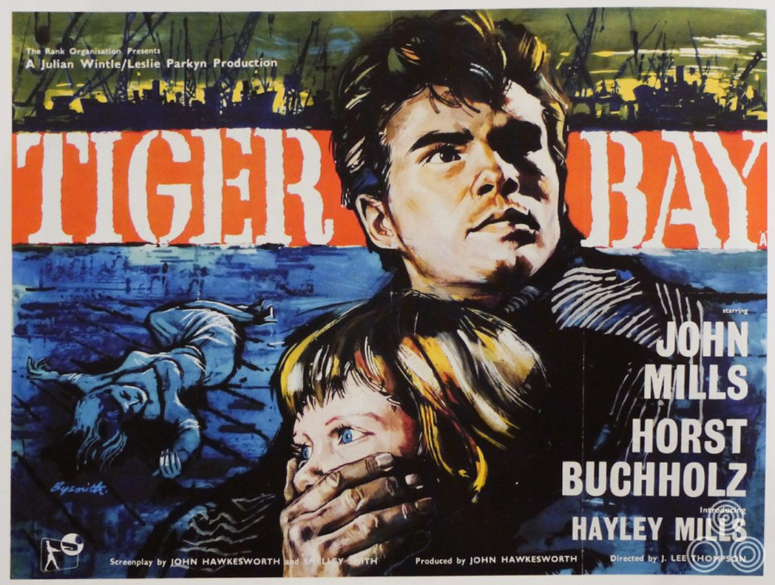 Tiger Bay (1959) British quad poster