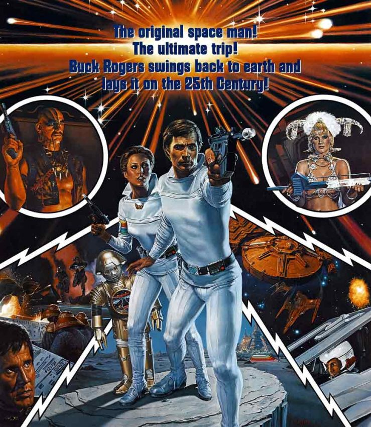 October 9: Buck Rogers Planet Outlaws & Buck Rogers in the 25th Century | New Beverly Cinema