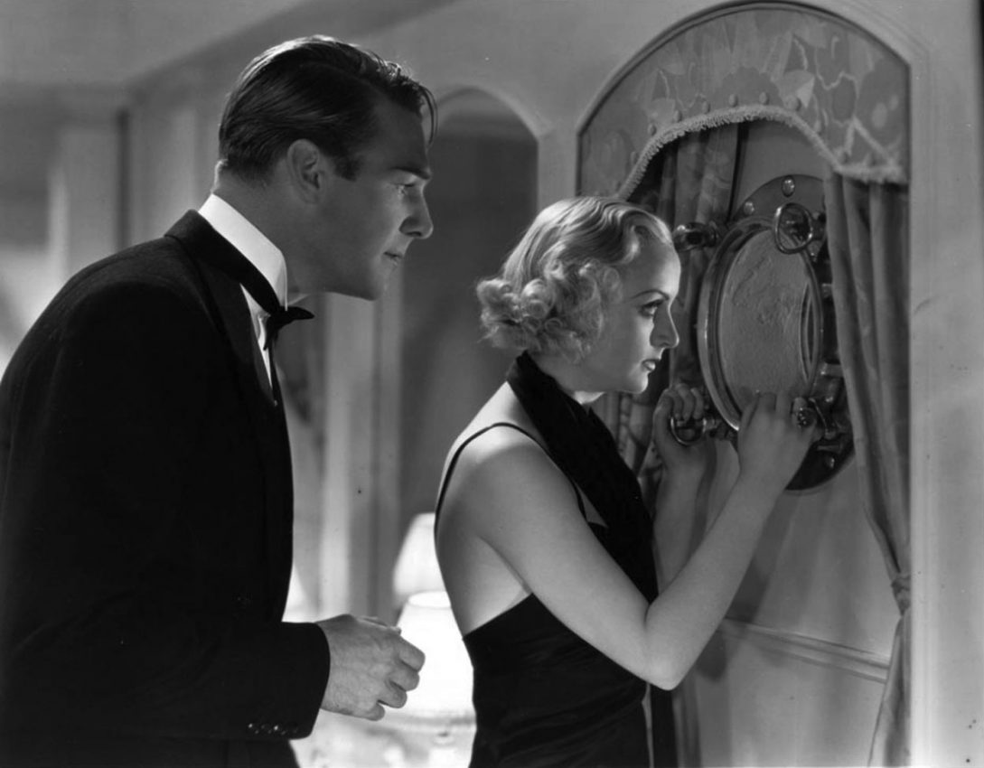 Randolph Scott and Carole Lombard in Supernatural