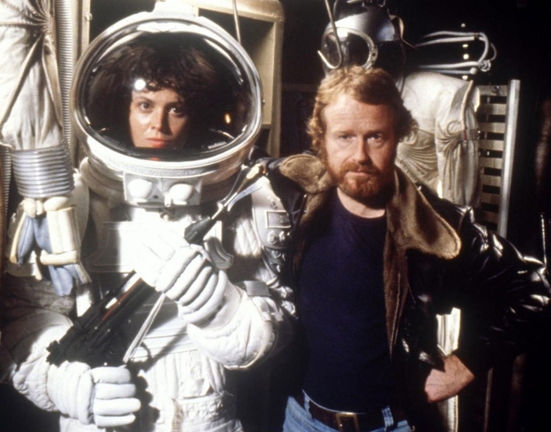 Sigourney Weaver and Ridley Scott on Alien