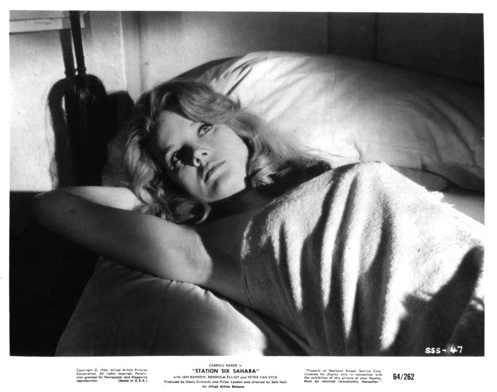 Carroll Baker in Station Six Sahara
