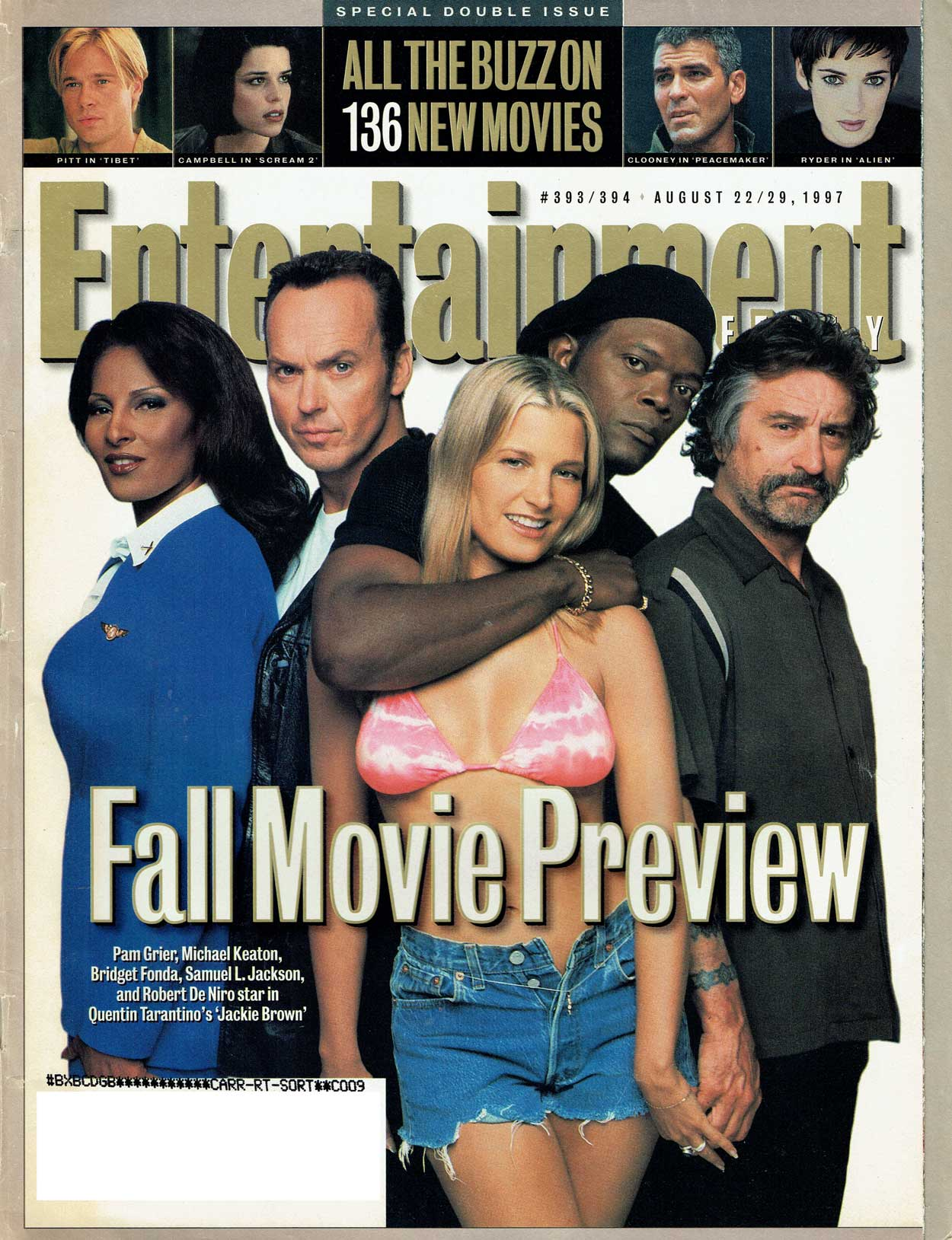 Entertainment Weekly: Jackie Brown preview