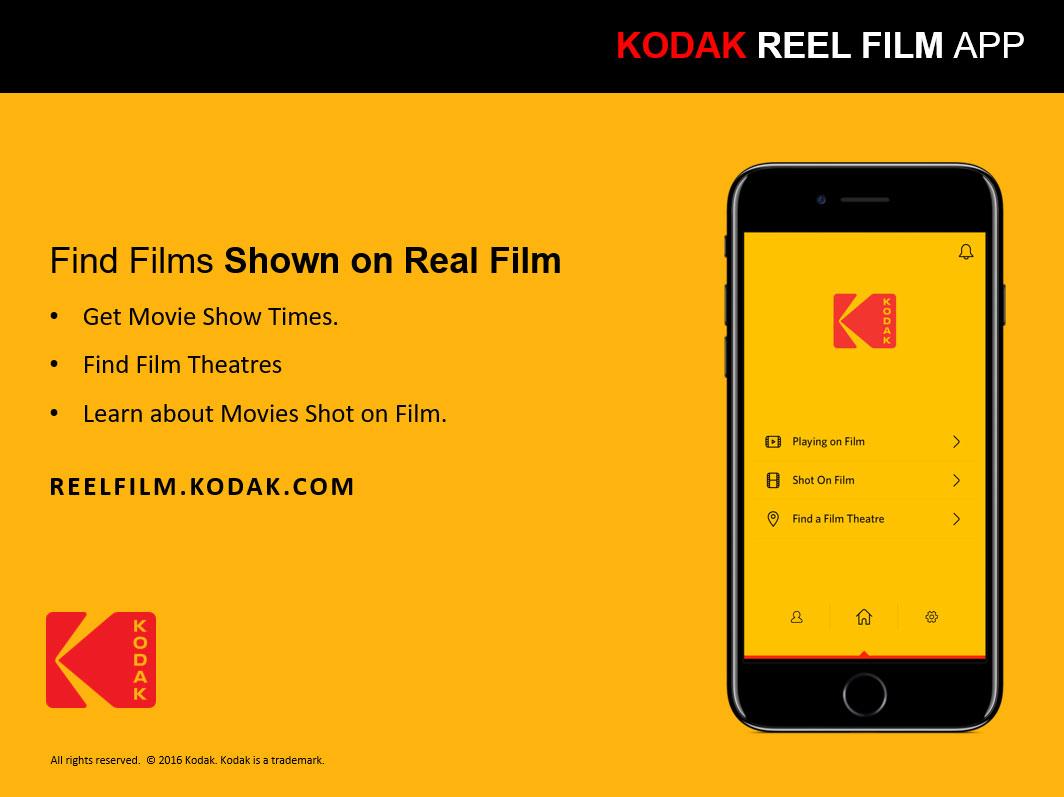 Kodak Reel Film app