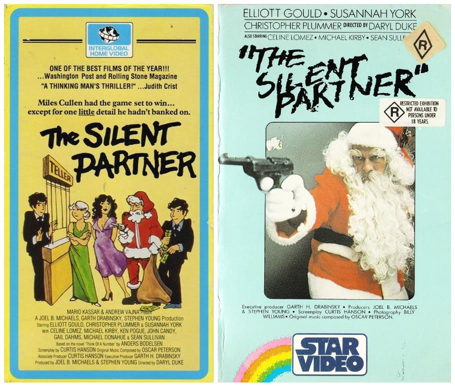 The Silent Partner vhs