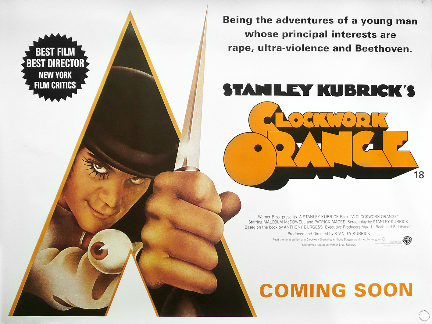 anthony burgess a clockwork orange new beverly cinema a clockwork orange