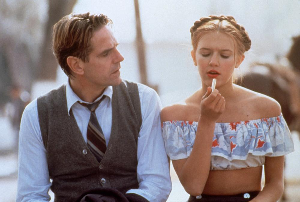 LOLITA, Jeremy Irons, Dominique Swain, 1997