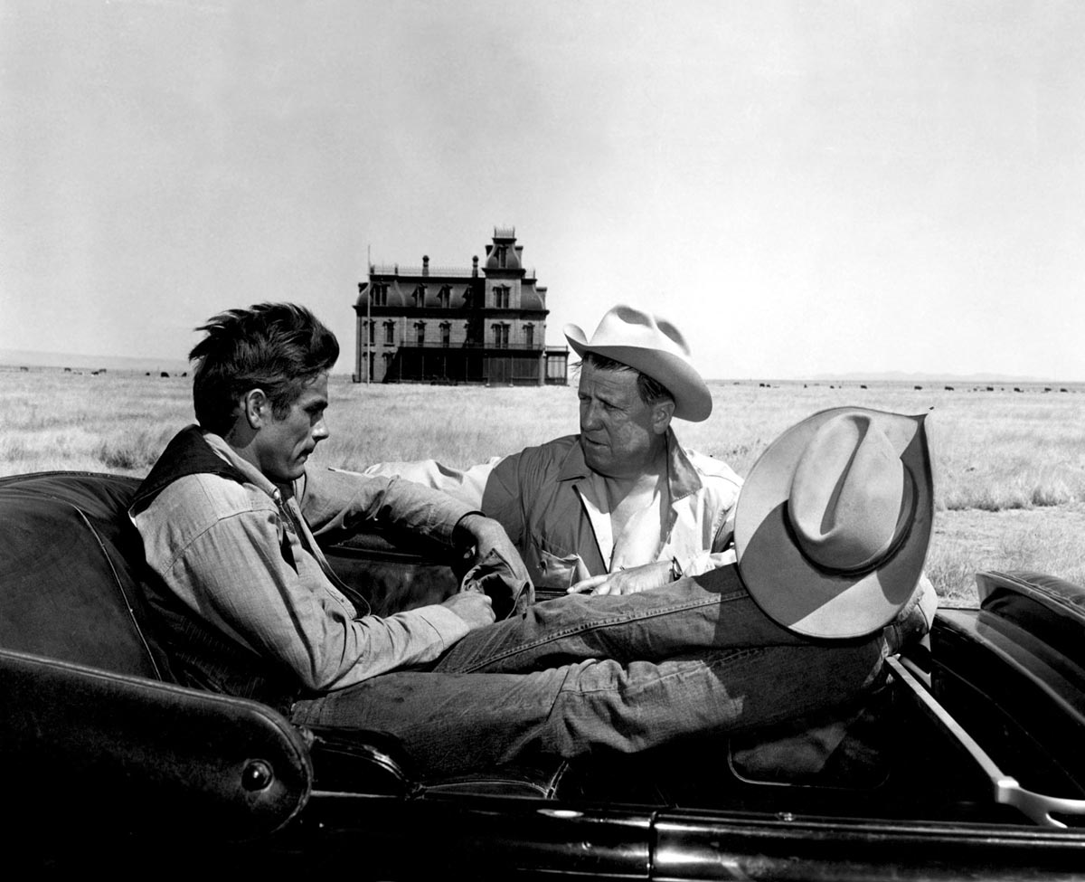 Giant: James Dean with George Stevens