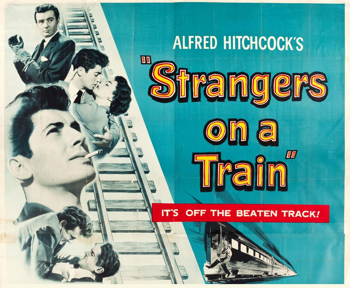 stranger on a train alfred hitchcock essay
