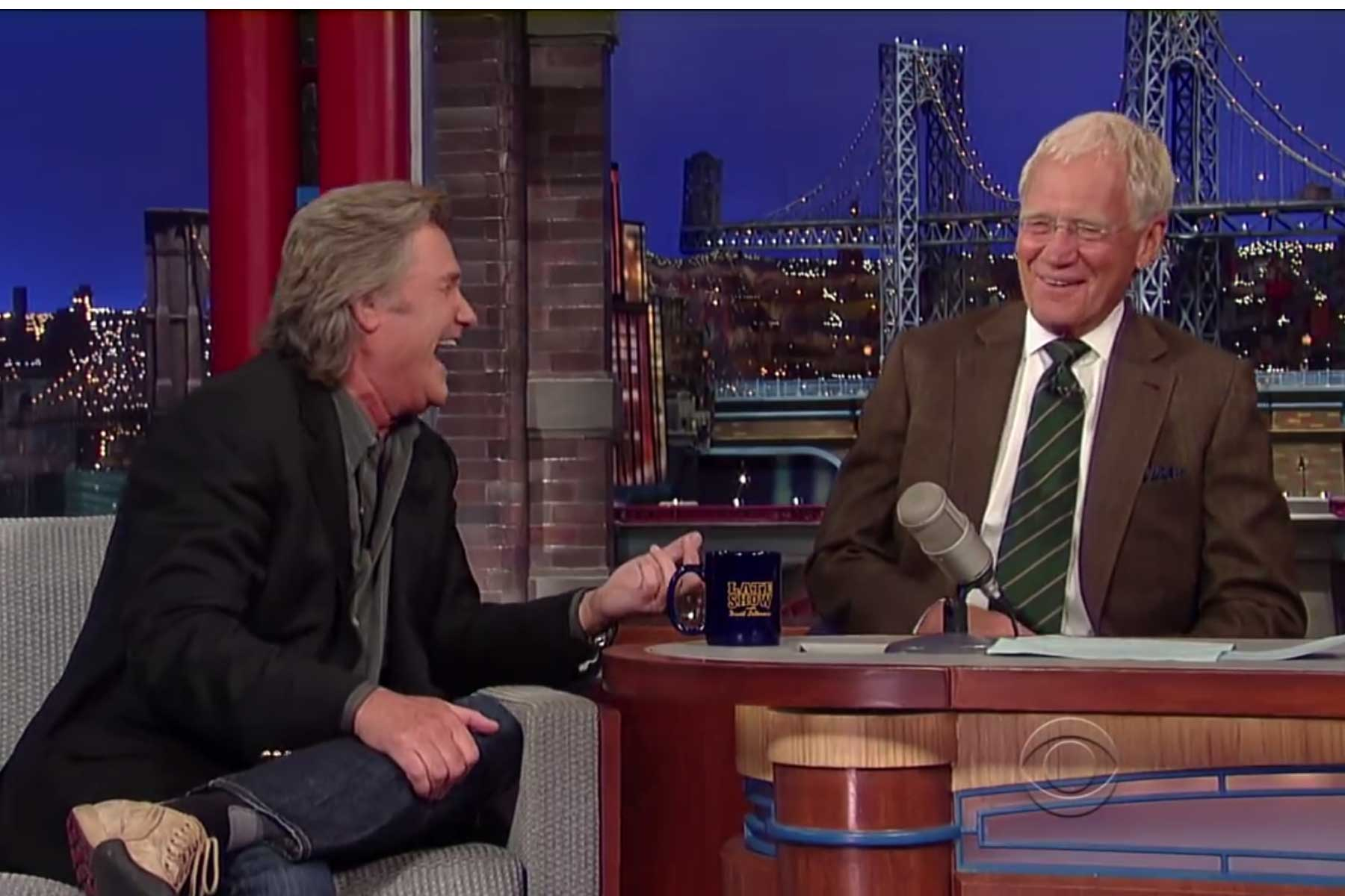 Kurt Russell on Letterman