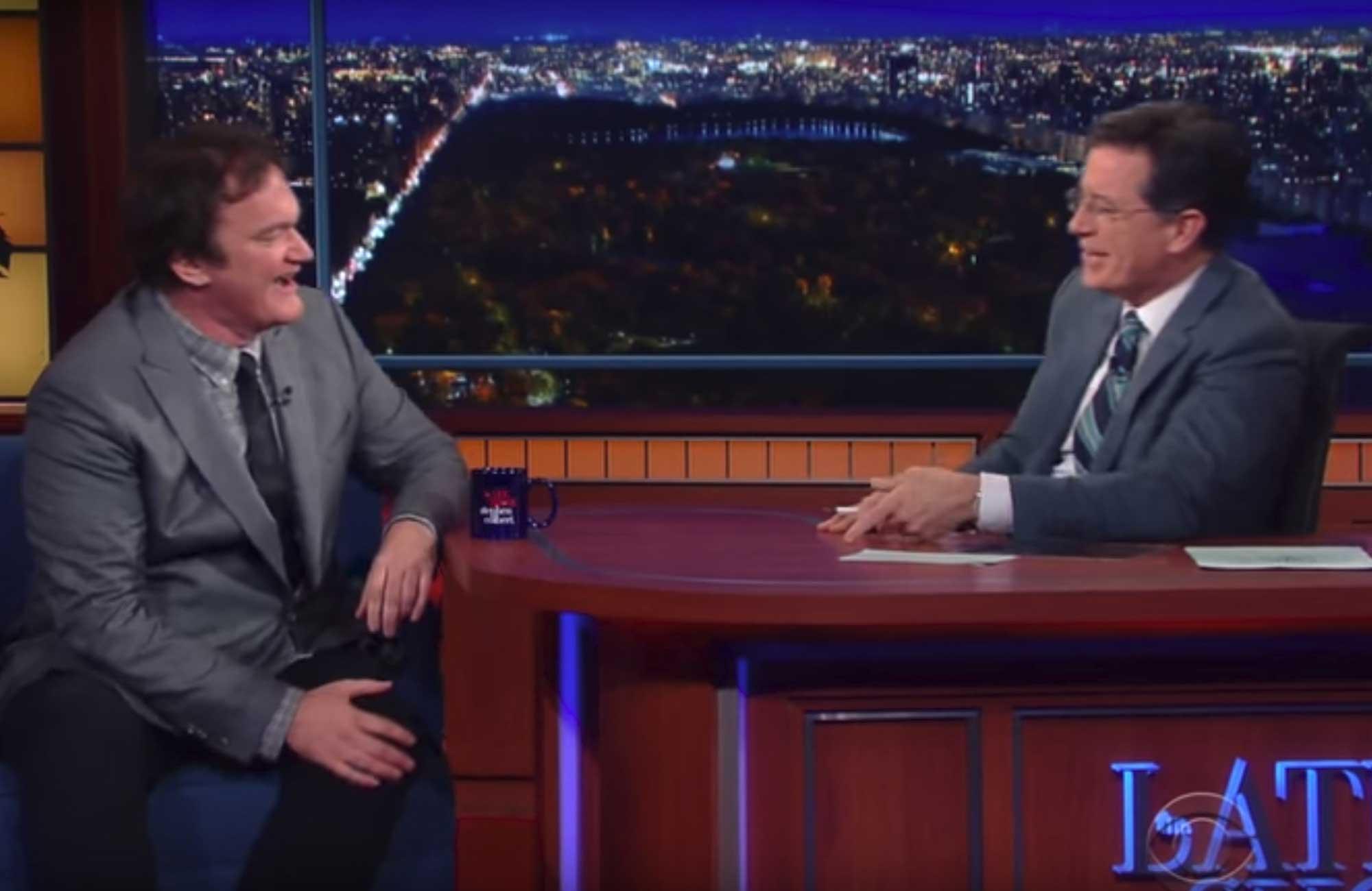 TBT: Q on Colbert