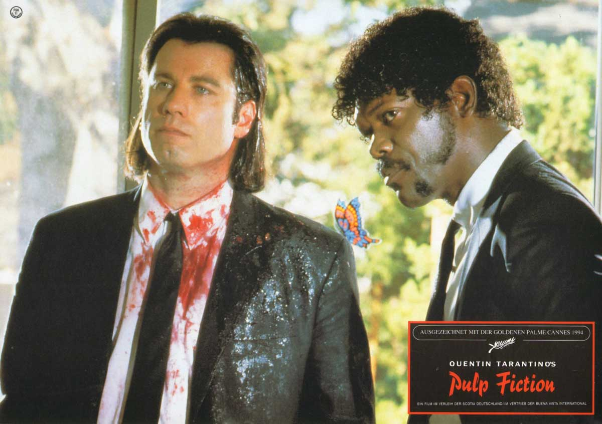 Pulp Fiction, German lobby card