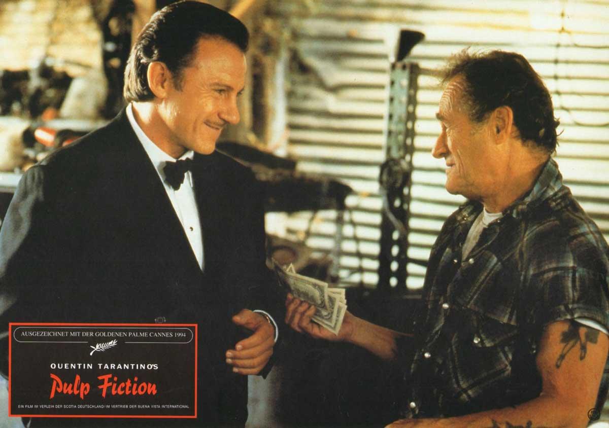 Pulp Fiction, German lobby card