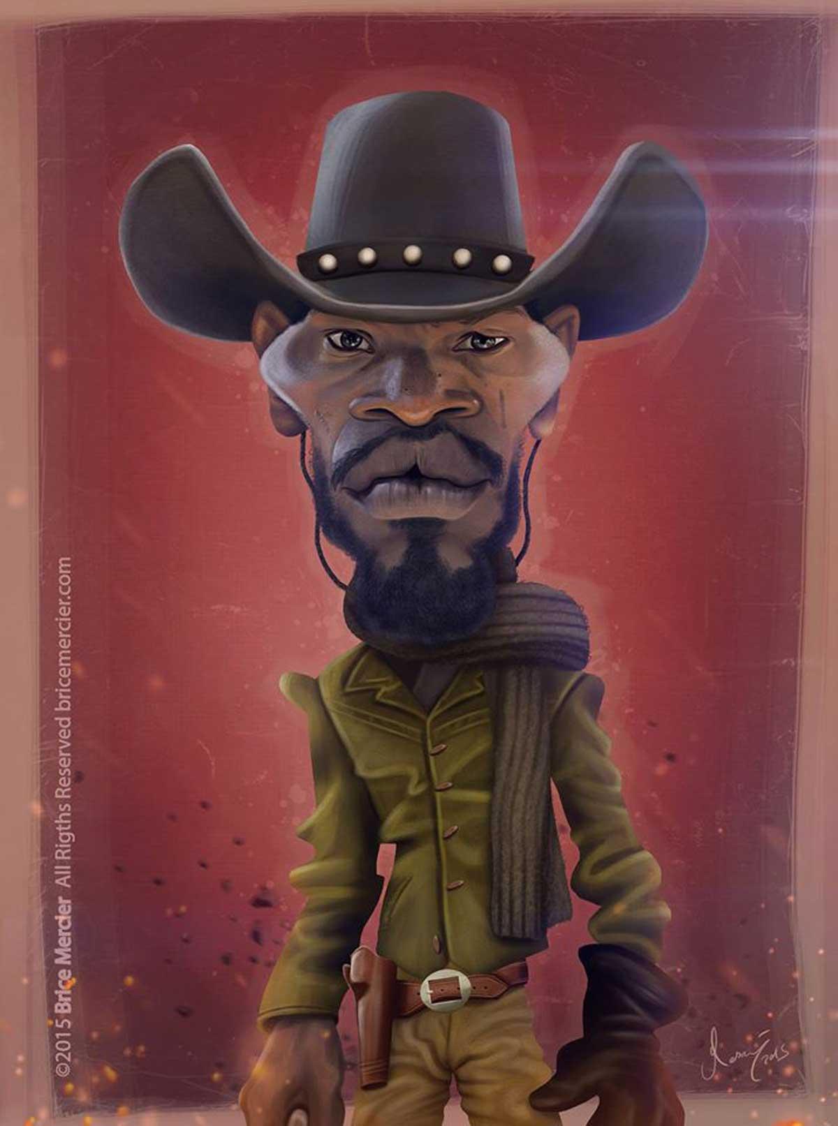 Django Unchained by Brice Mercier