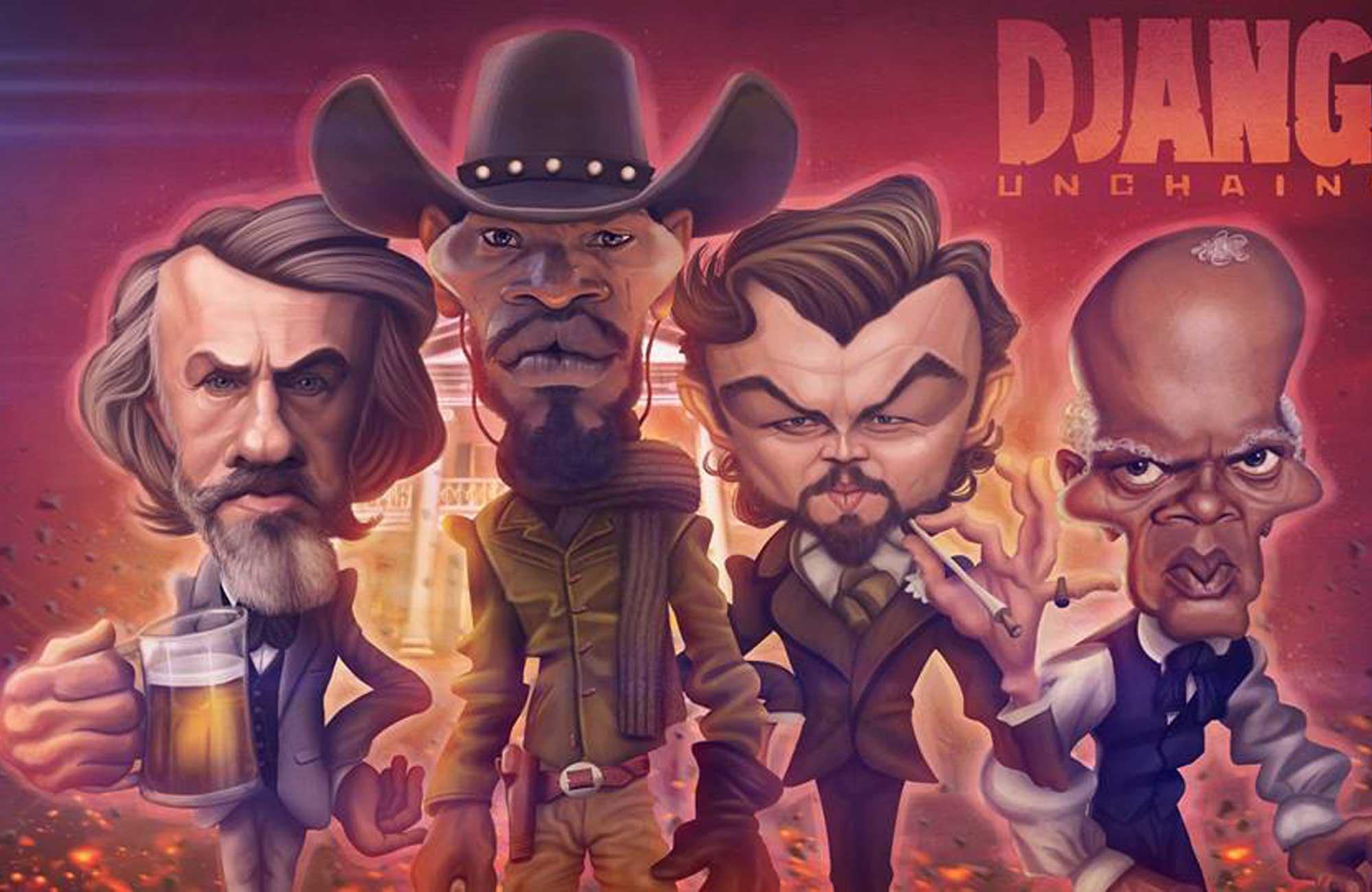 Django Caricatures