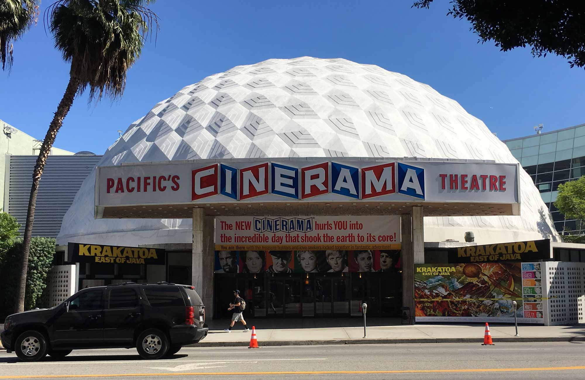The Cinerama Dome Gets A 1969 Makeover