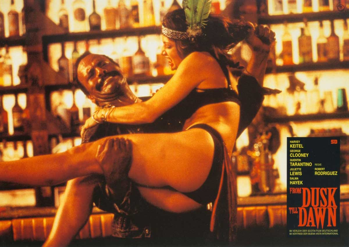From Dusk Till Dawn lobby card