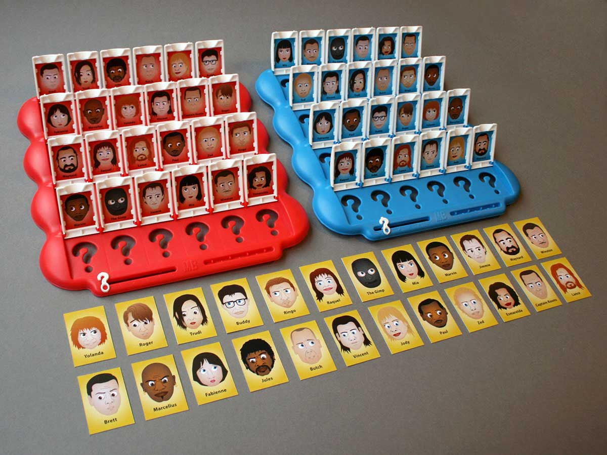 Pulp Fiction Guess Who by Joe Stone