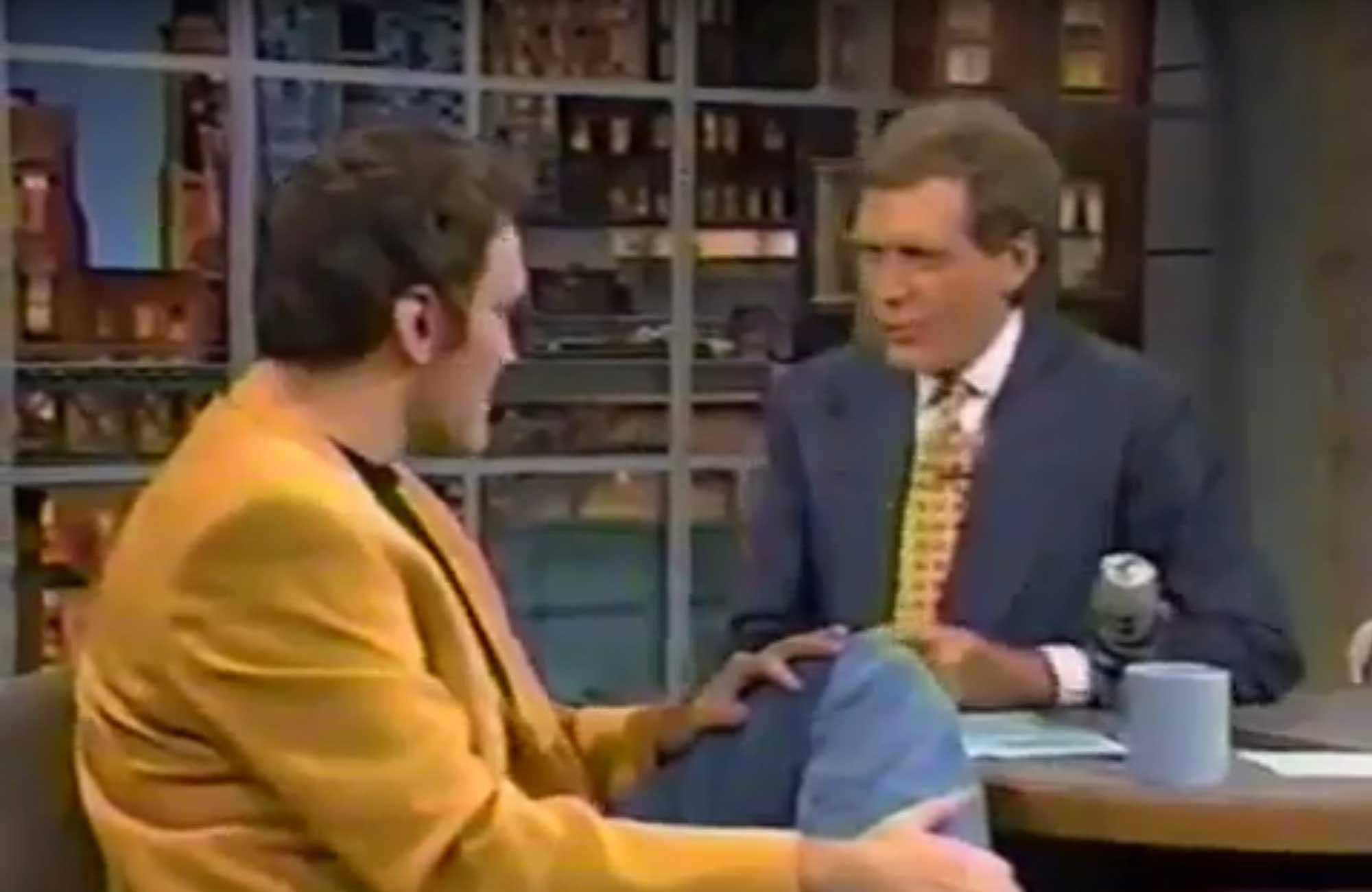 TBT: Q on Letterman