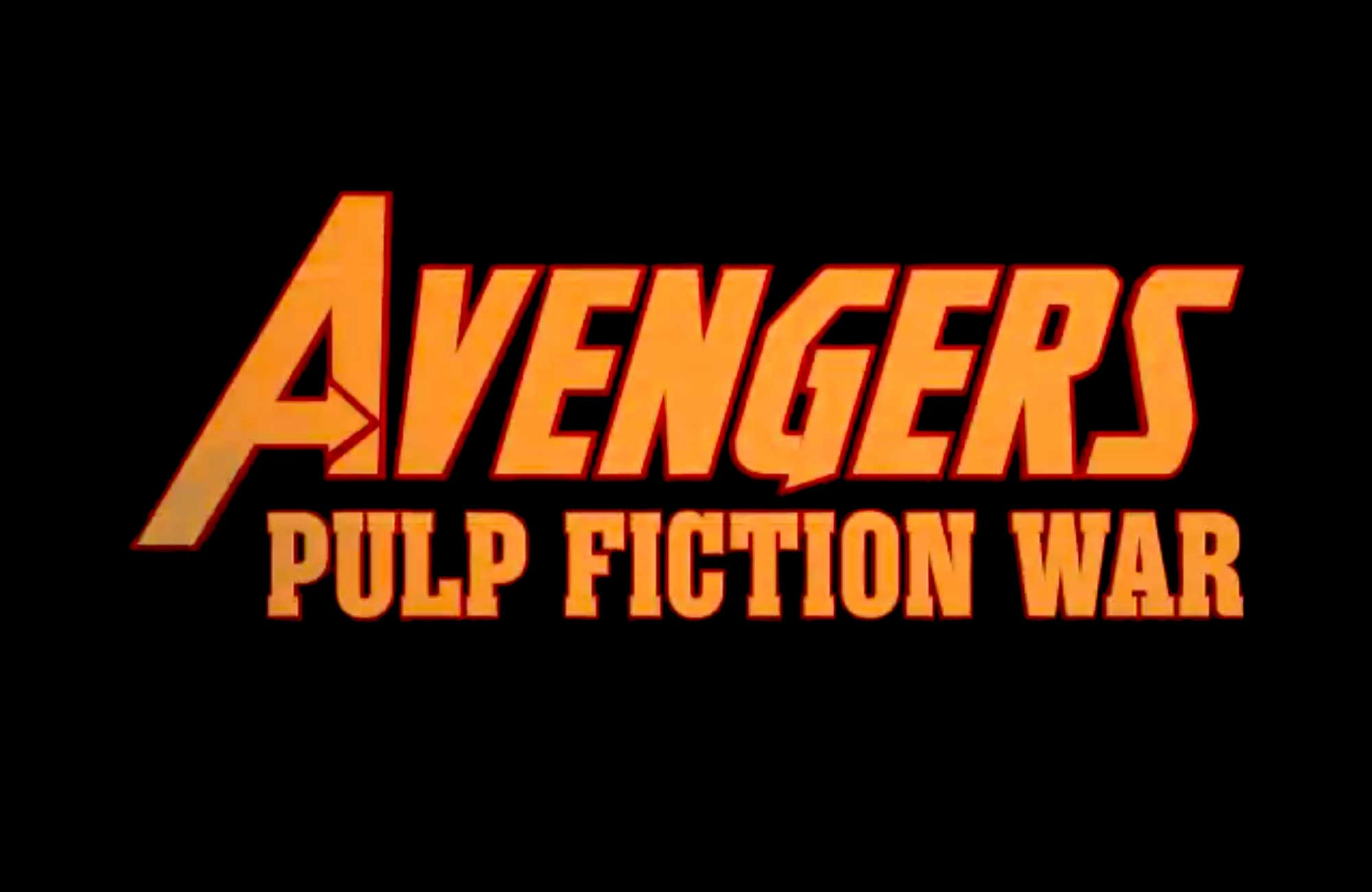 Avengers: Pulp Fiction War