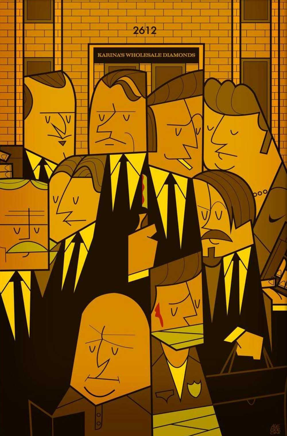 Reservoir Dogs by Ale Giorgini