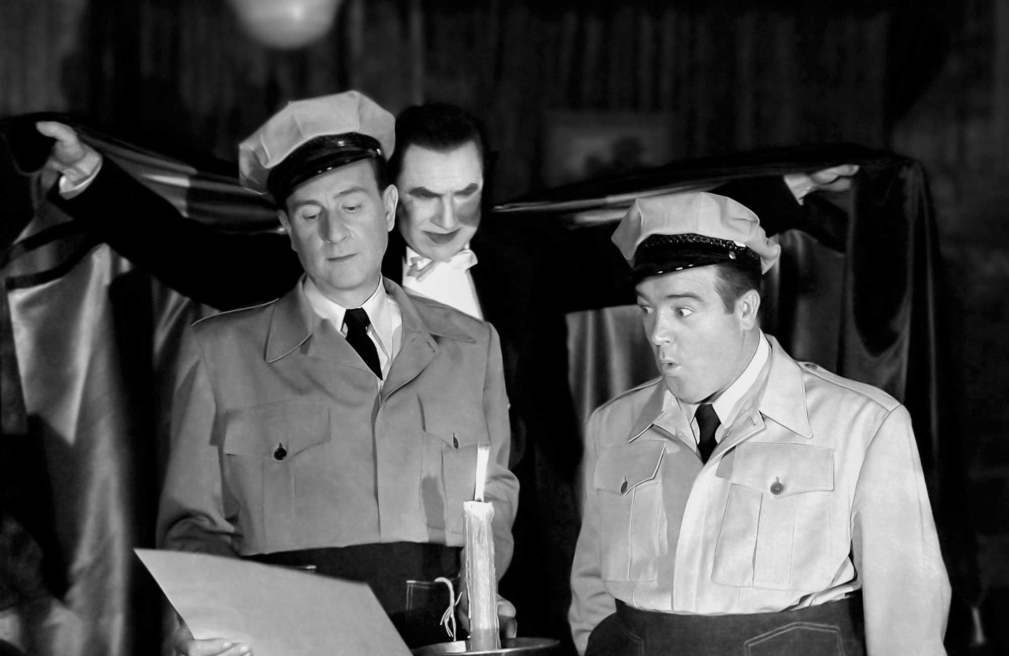 Tarantino on Abbott and Costello Meet Frankenstein