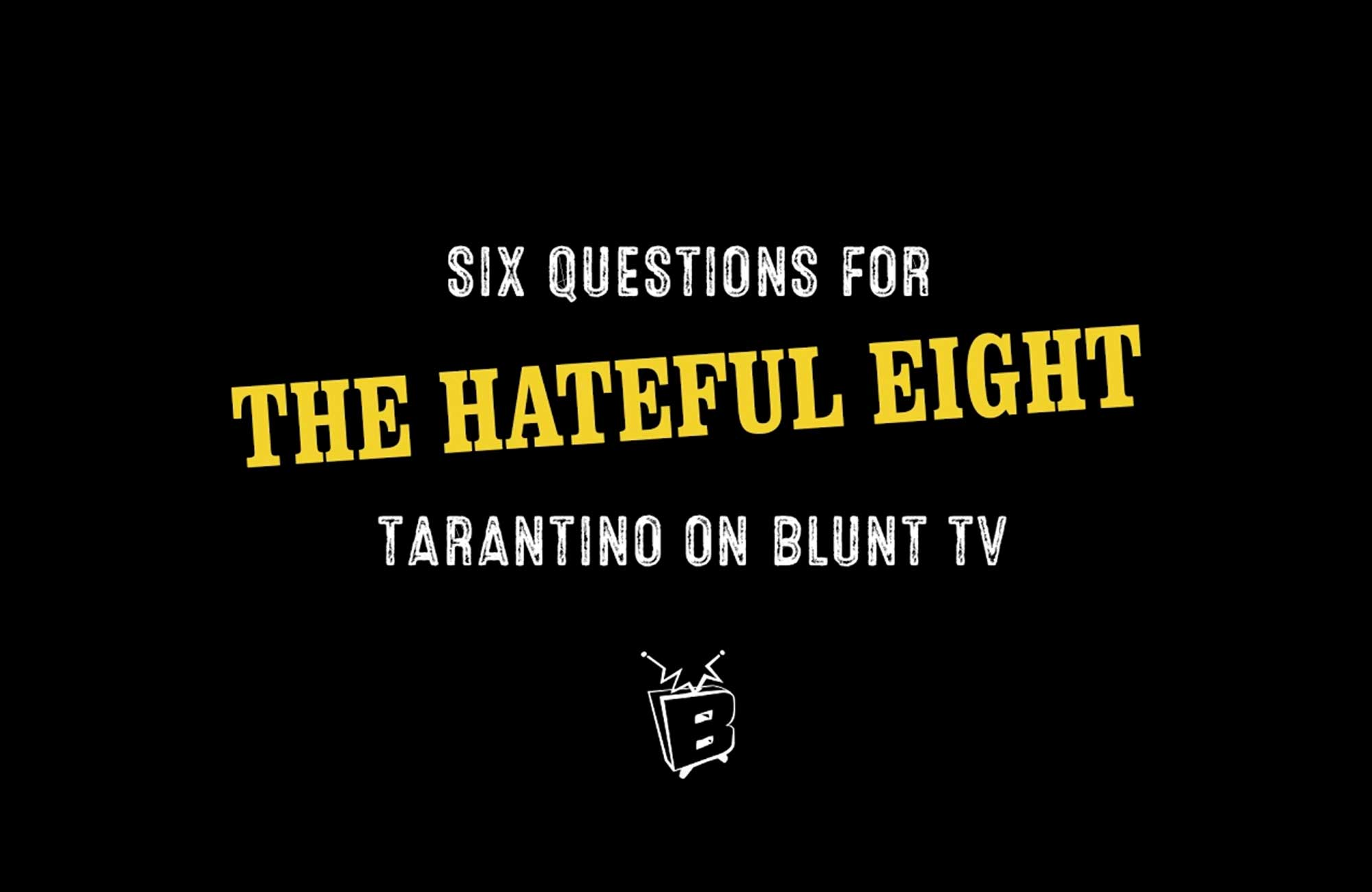 Six Questions with Blunt TV