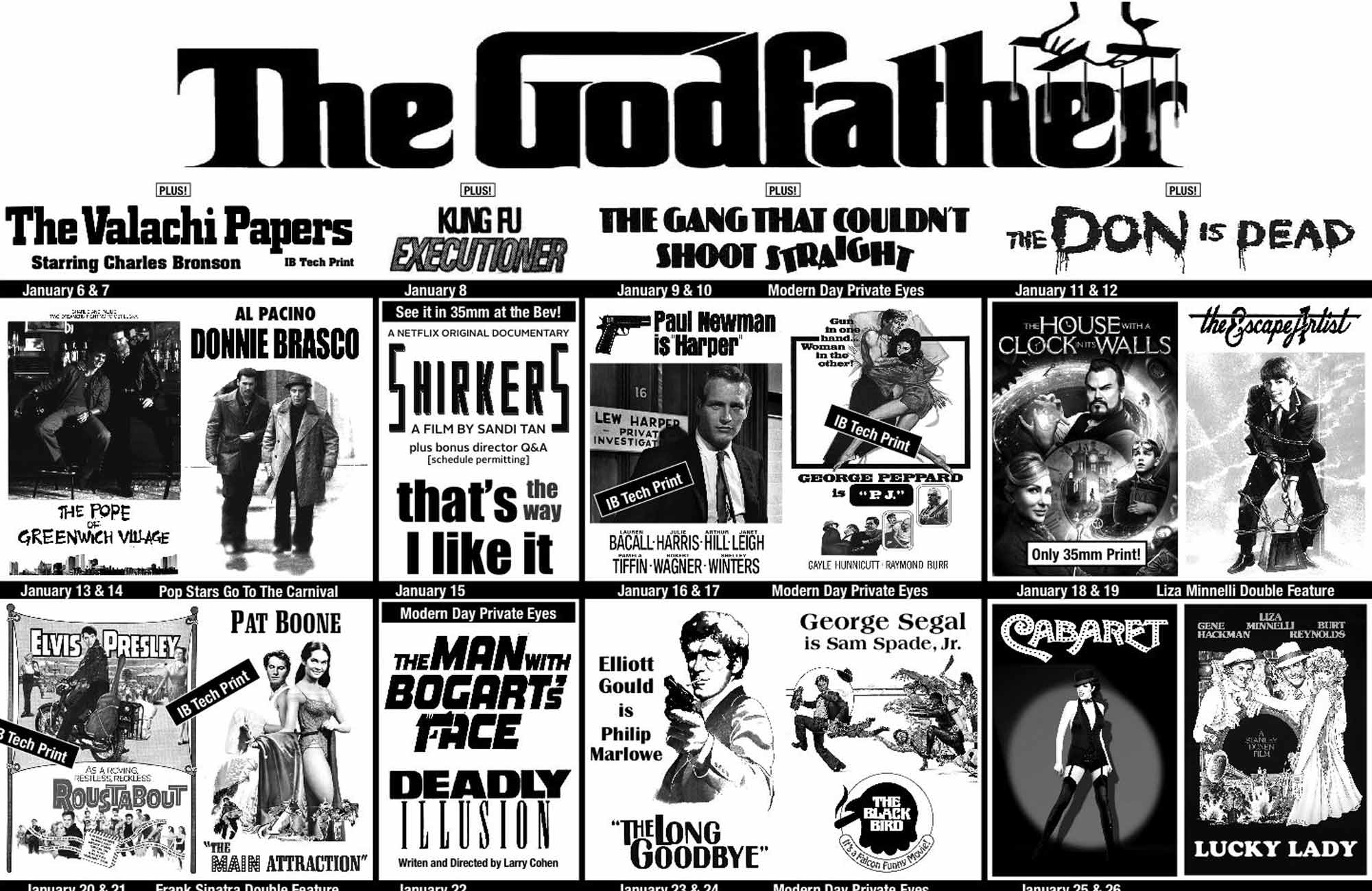 January 2019 at the New Beverly