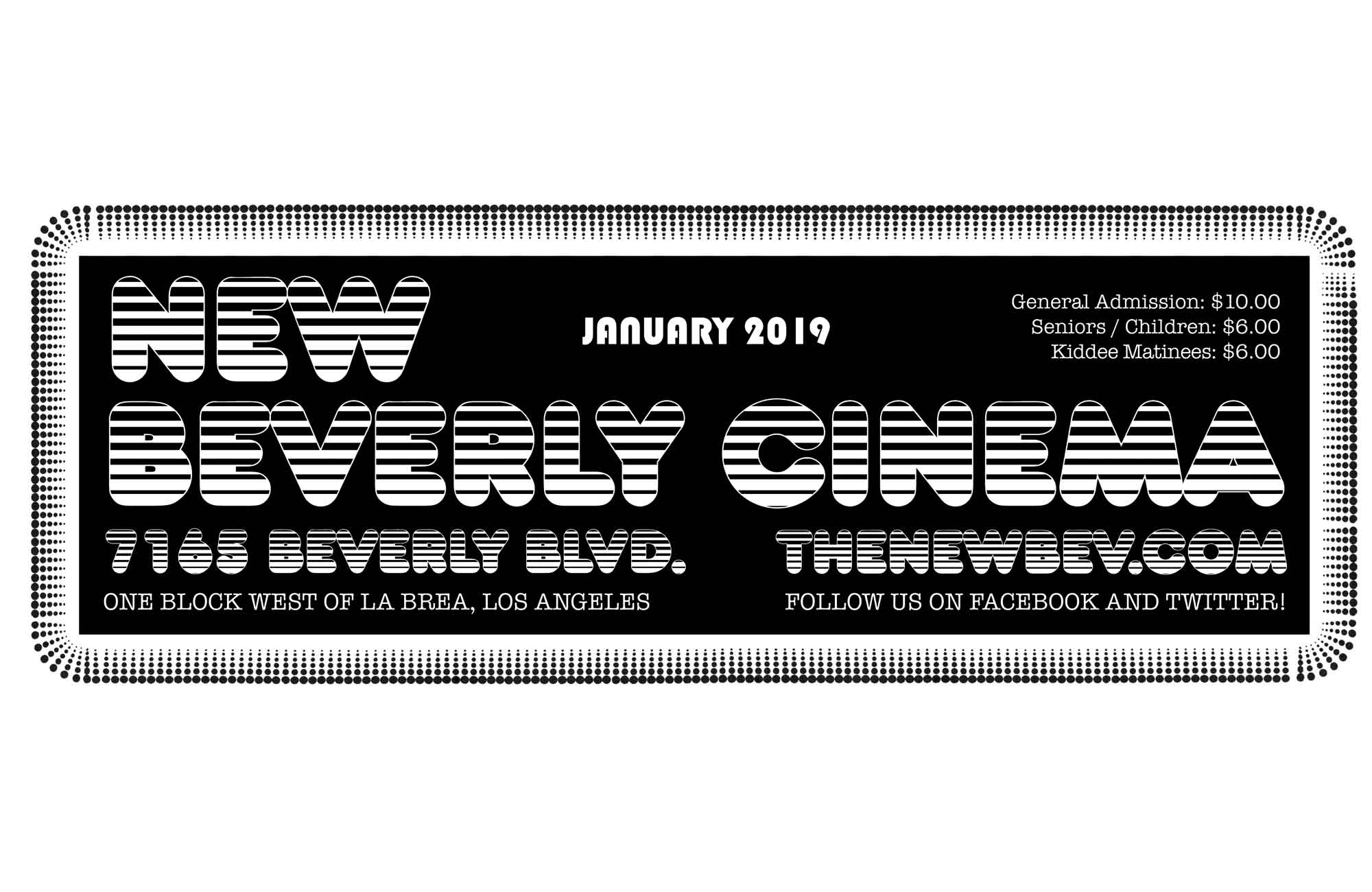 Pure Cinema Podcast: January '19 Calendar