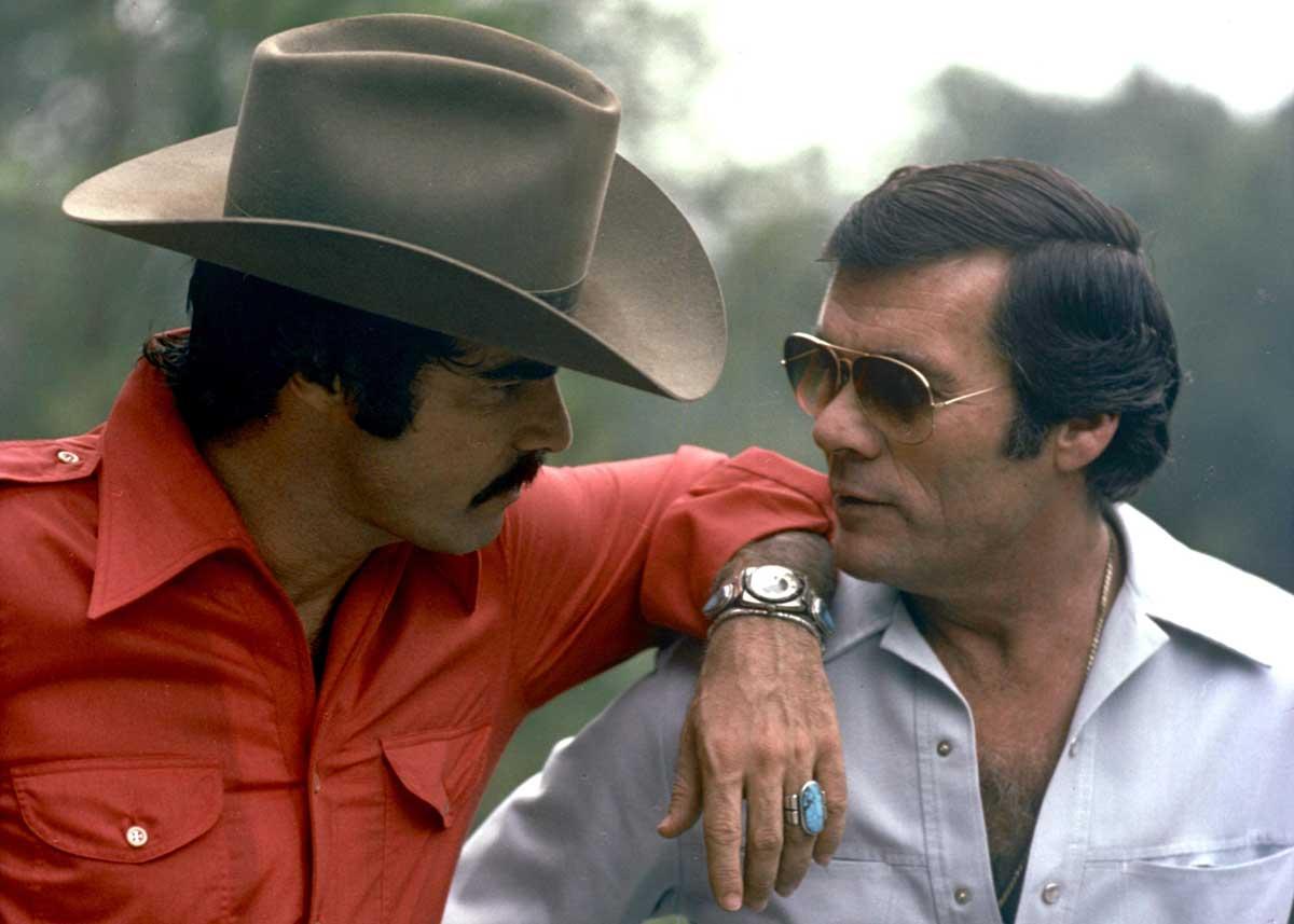Burt Reynolds and Hal Needham