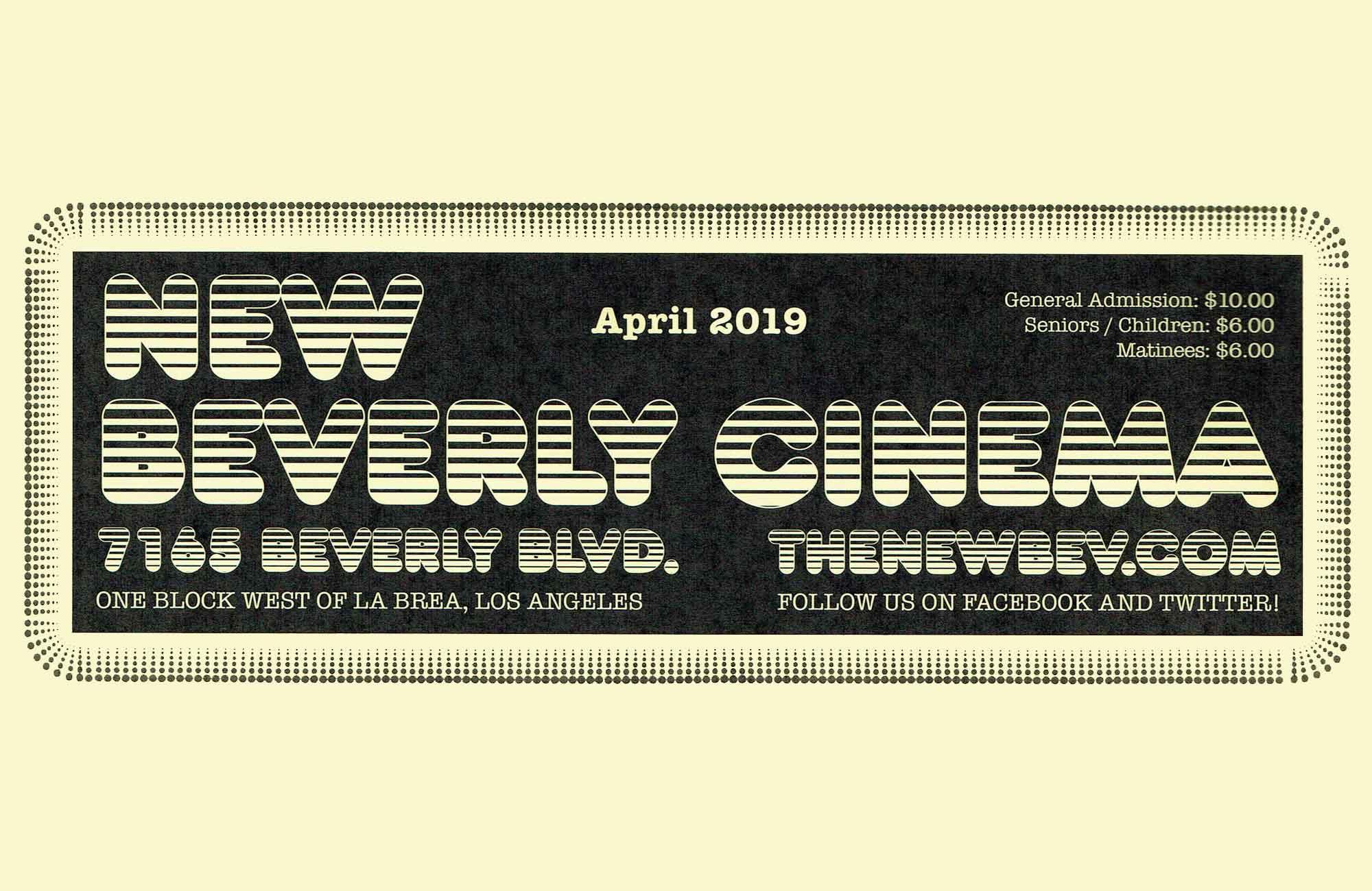 Pure Cinema Podcast: April '19 Calendar