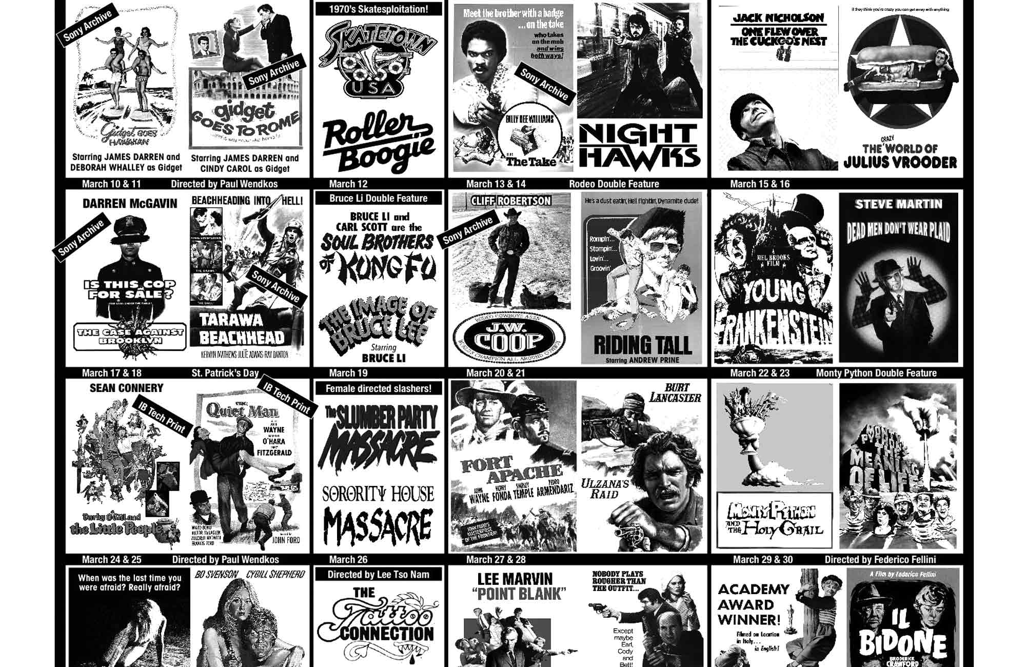 March 2019 at the New Beverly
