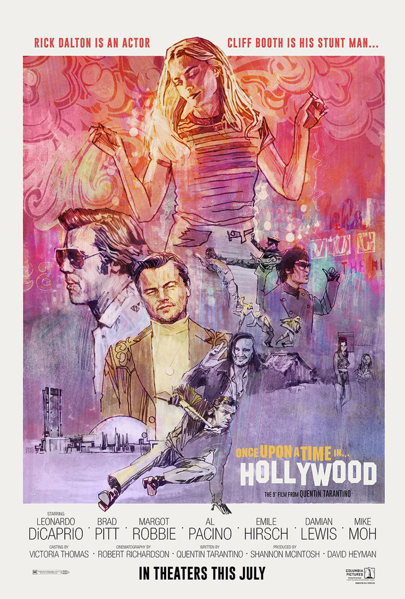 Once Upon A Time In Hollywood by Alphaville Design