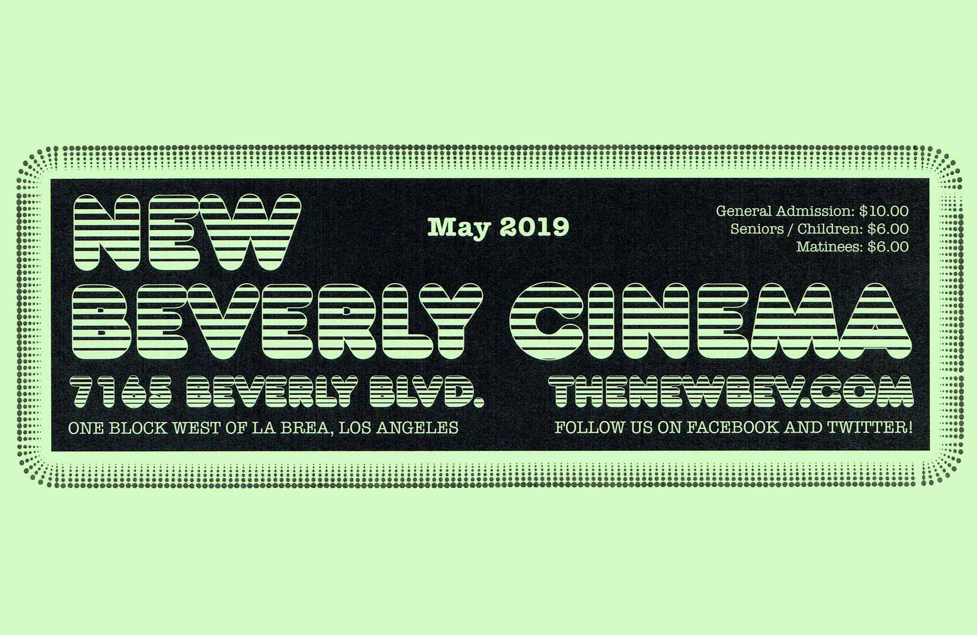 Pure Cinema Podcast: May '19 Calendar
