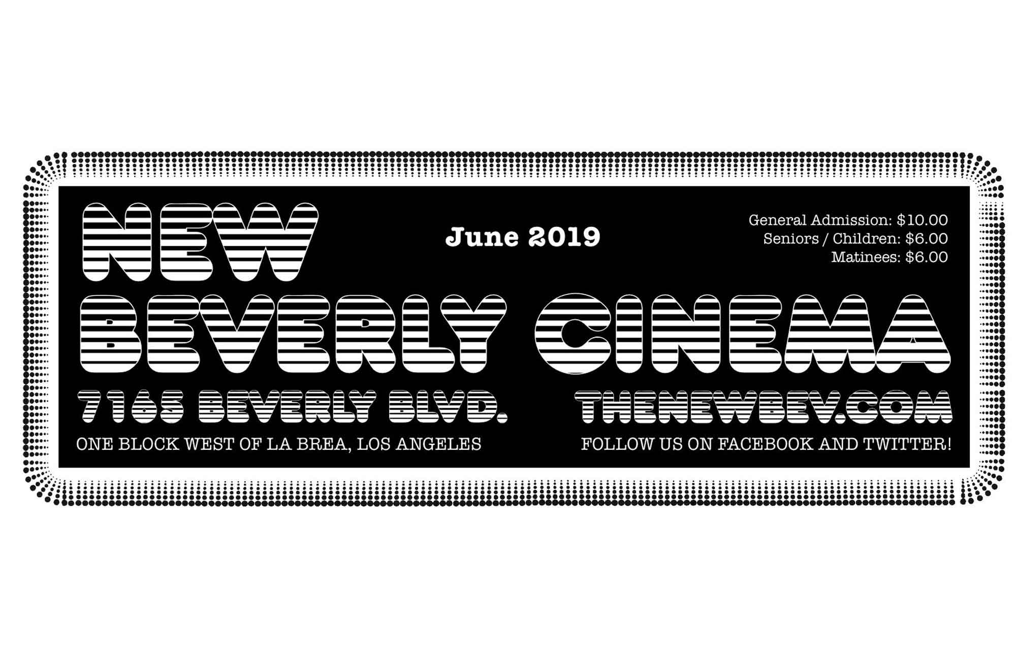 Pure Cinema Podcast: June '19 Calendar