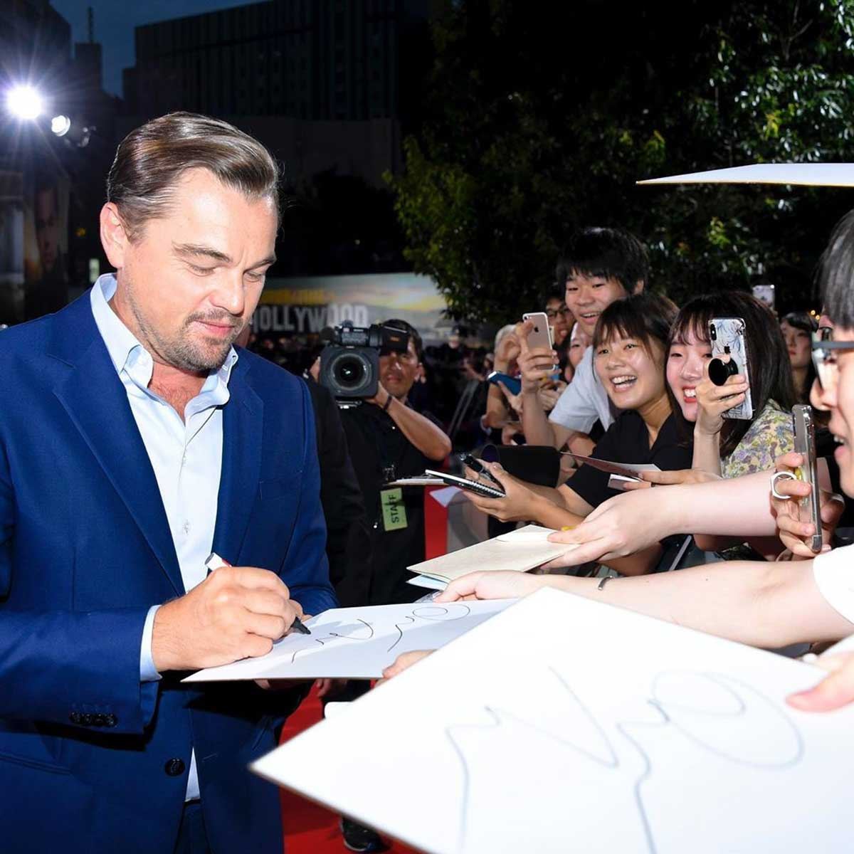 Once Upon a Time in Hollywood Tokyo premiere