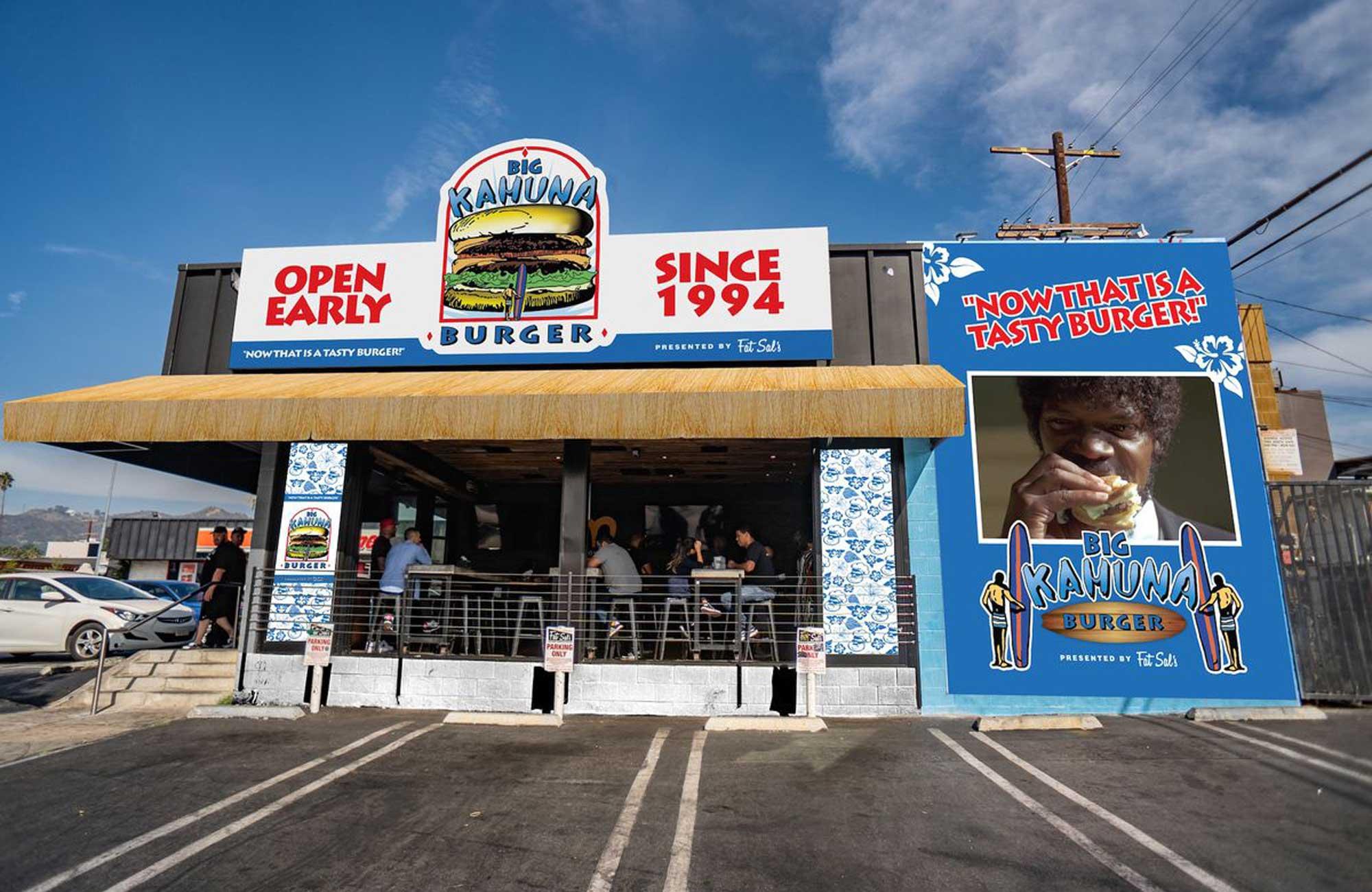 Big Kahuna Burger Comes to Hollywood