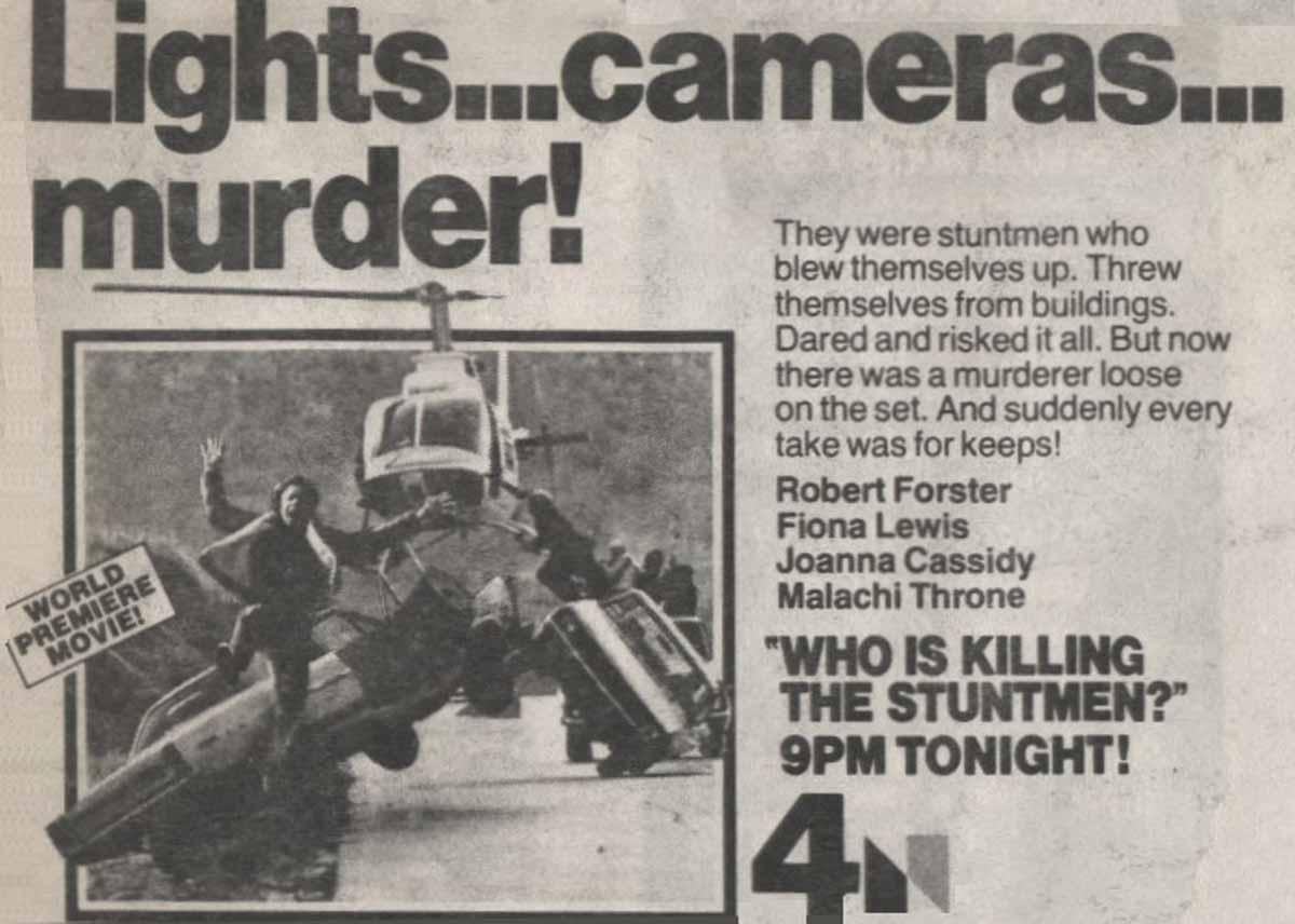 Stunts aka Who is Killing the Stuntmen?