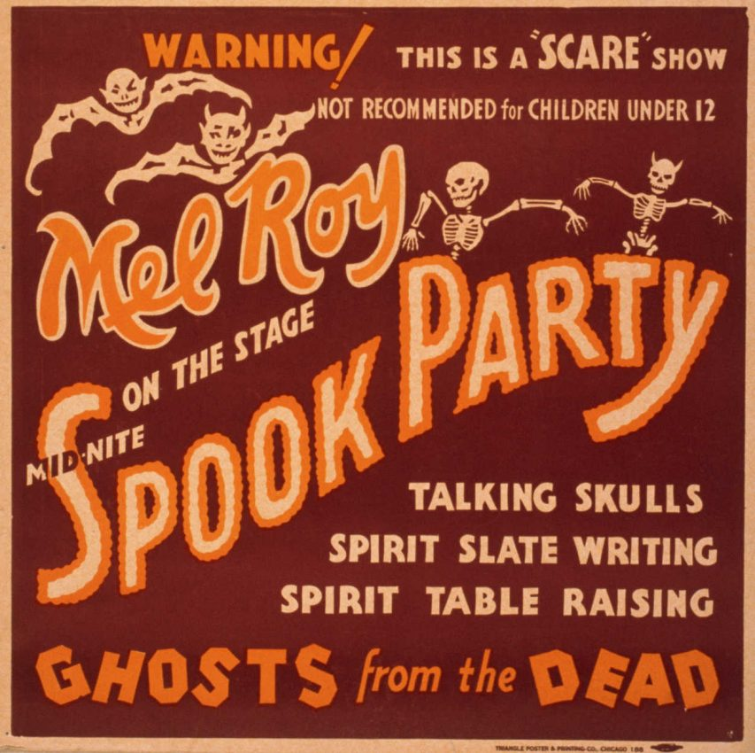 Mel Roy Spook Party