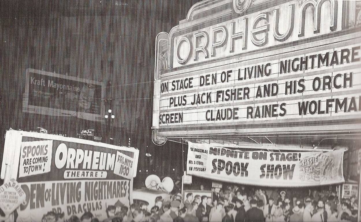 Orpheum Spook Show